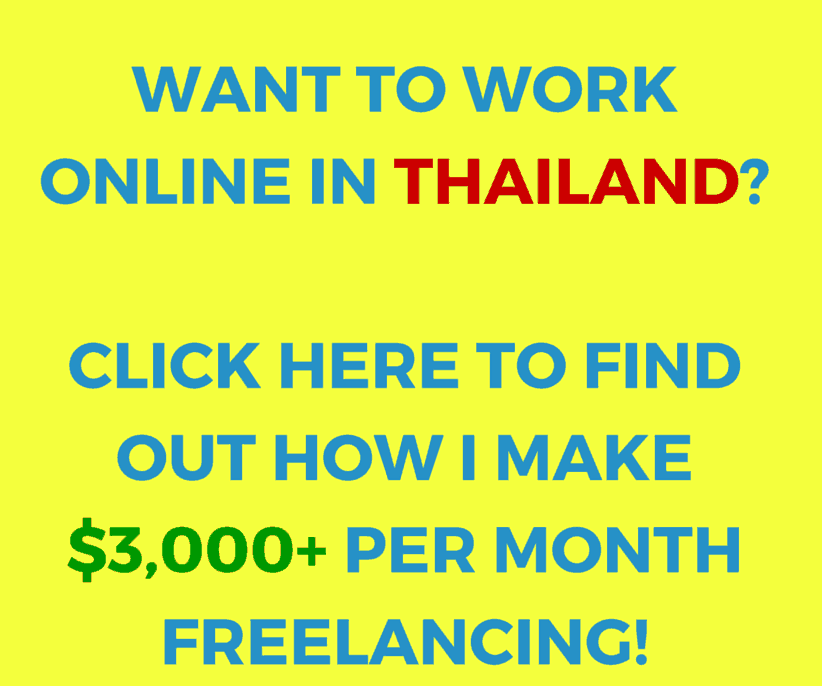 working in Thailand