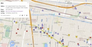 Get Your Personal Interactive Bangkok Map