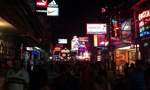 Walking street clubs in Pattaya