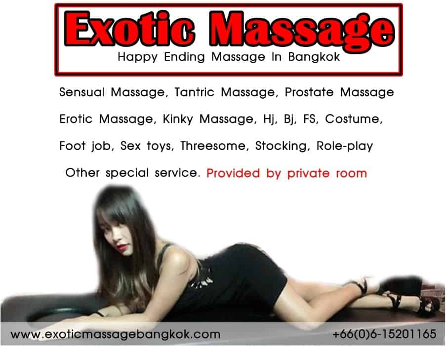 Happy ending, 14 Best Happy Massages in Bangkok