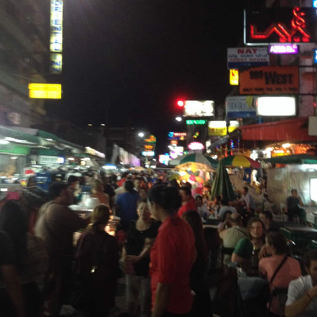 , Khao San road – 5 reasons not to visit