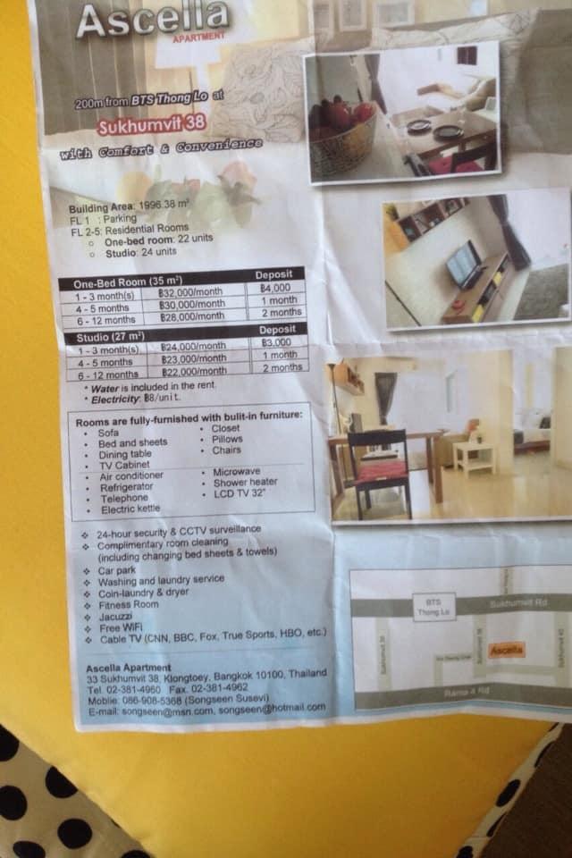 , Ascella Apartment Bangkok Review