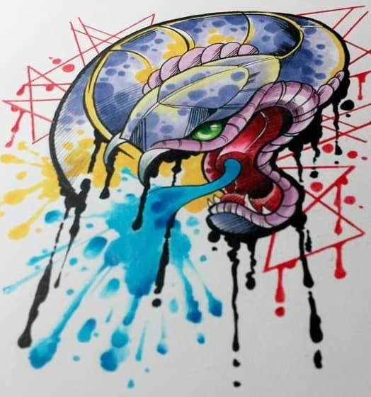 Eight's artwork