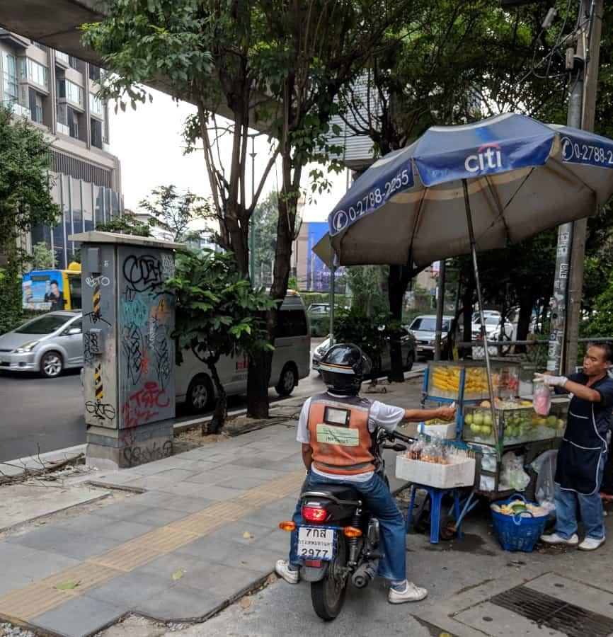 motorbike in Bangkok