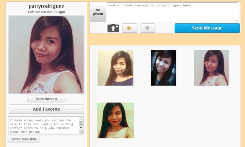 pina love profile